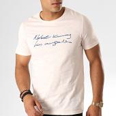 /achat-t-shirts/classic-series-tee-shirt-tc-337-rose-pale-chine-bleu-marine-187245.html