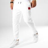 /achat-pantalons-joggings/hugo-by-hugo-boss-pantalon-jogging-reverse-logo-dakarta-50414144-blanc-rouge-187314.html