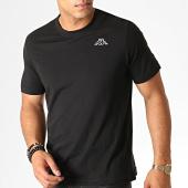 /achat-t-shirts/kappa-tee-shirt-logo-cafers-304j150-noir-187334.html