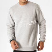 /achat-sweats-col-rond-crewneck/adidas-sweat-crewneck-outline-ed4686-gris-chine-blanc-187344.html
