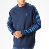 /achat-sweats-col-rond-crewneck/adidas-sweat-crewneck-3-stripes-ek0260-bleu-marine-bleu-indigo-187362.html