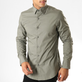 /achat-chemises-manches-longues/g-star-chemise-manches-longues-core-d03691-7085-vert-kaki-187376.html