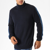 /achat-pulls-col-roule/brave-soul-pull-col-roule-a-bandes-matson-bleu-marine-187526.html