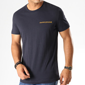 /achat-t-shirts/calvin-klein-tee-shirt-chest-institutional-7852-bleu-marine-fonce-orange-187538.html