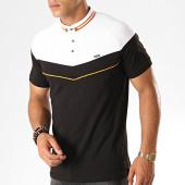 /achat-polos-manches-courtes/classic-series-polo-manches-courtes-2449-noir-blanc-orange-187534.html