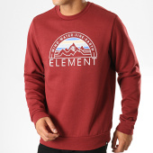 /achat-sweats-col-rond-crewneck/element-sweat-crewneck-odyssey-bordeaux-187484.html