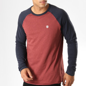 /achat-t-shirts-manches-longues/element-tee-shirt-manches-longues-blunt-bordeaux-bleu-marine-187527.html