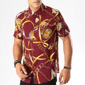 /achat-chemises-manches-courtes/frilivin-chemise-manches-courtes-bm1043f-bordeaux-jaune-blanc-187414.html