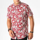 /achat-chemises-manches-courtes/frilivin-chemise-manches-courtes-floral-bm1043k-rouge-blanc-187420.html