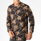 /achat-chemises-manches-longues/frilivin-chemise-manches-longues-7530-noir-jaune-187422.html