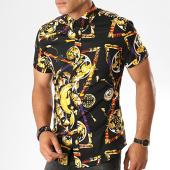 /achat-chemises-manches-courtes/frilivin-chemise-manches-courtes-floral-dx2158-noir-jaune-187428.html
