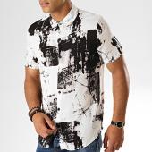 /achat-chemises-manches-courtes/frilivin-chemise-manches-courtes-bm1043h-blanc-noir-187432.html