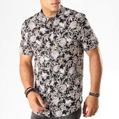 /achat-chemises-manches-courtes/frilivin-chemise-manches-courtes-floral-bm1043k-noir-blanc-187433.html