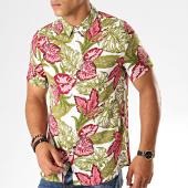 /achat-chemises-manches-courtes/frilivin-chemise-manches-courtes-floral-bm1043j-blanc-vert-kaki-rose-187443.html