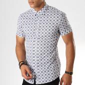 /achat-chemises-manches-courtes/frilivin-chemise-manches-courtes-dx2103-blanc-bleu-camel-187453.html