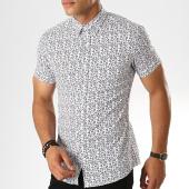 /achat-chemises-manches-courtes/frilivin-chemise-manches-courtes-floral-dx2109-blanc-noir-187455.html