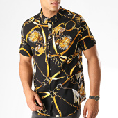 /achat-chemises-manches-courtes/frilivin-chemise-manches-courtes-bm1043f-noir-jaune-blanc-187460.html