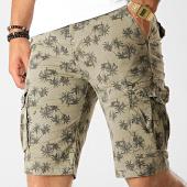 /achat-shorts-cargo/frilivin-short-cargo-df-960-vert-kaki-floral-187495.html