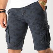 /achat-shorts-cargo/frilivin-short-cargo-df-960-bleu-marine-floral-187497.html