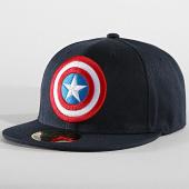 /achat-snapbacks/captain-america-casquette-snapback-captain-america-bleu-marine-187552.html