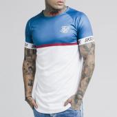 /achat-t-shirts-longs-oversize/siksilk-tee-shirt-oversize-stripe-14287-bleu-marine-blanc-187532.html