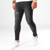 /achat-jeans/siksilk-jean-skinny-distressed-14003-noir-187535.html