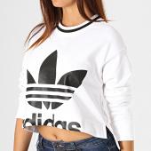/achat-sweats-col-rond-crewneck/adidas-sweat-crewneck-crop-femme-ed4759-blanc-noir-187669.html