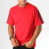 /achat-t-shirts/adidas-tee-shirt-a-bandes-trefoil-ej9124-rouge-187678.html