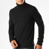 /achat-pulls/hugo-by-hugo-boss-pull-col-roule-reverse-logo-san-thomas-50402582-noir-rouge-187662.html