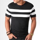 /achat-t-shirts/lbo-tee-shirt-avec-bandes-832-noir-blanc-187710.html
