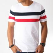 /achat-t-shirts/lbo-tee-shirt-avec-bandes-833-bleu-rouge-blanc-187711.html