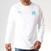 /achat-t-shirts-manches-longues/puma-tee-shirt-manches-longues-om-training-756206-blanc-bleu-clair-187652.html