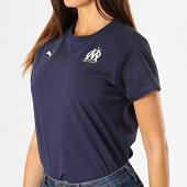 /achat-t-shirts/puma-tee-shirt-om-casuals-755849-bleu-marine-187656.html