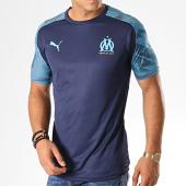 /achat-t-shirts/puma-tee-shirt-de-sport-om-training-jersey-755828-bleu-marine-bleu-clair-187667.html