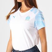 /achat-t-shirts/puma-tee-shirt-om-casuals-755849-blanc-bleu-clair-187679.html