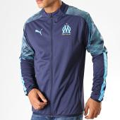 /achat-vestes/puma-veste-zippee-om-sideline-756380-bleu-marine-bleu-ciel-187680.html