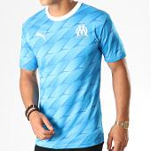/achat-t-shirts/puma-maillot-de-foot-om-away-authentic-755659-bleu-clair-blanc-187698.html