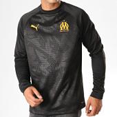 /achat-t-shirts-manches-longues/puma-tee-shirt-manches-longues-om-training-756206-noir-orange-187702.html