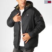 /achat-parkas/tommy-hilfiger-jeans-anorak-essential-6486-noir-vert-kaki-187639.html