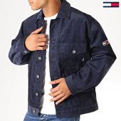 /achat-vestes/tommy-hilfiger-jeans-veste-velours-cord-6497-bleu-marine-187640.html