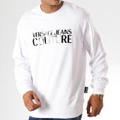 /achat-sweats-col-rond-crewneck/versace-jeans-couture-sweat-crewneck-logo-gloss-b7gua7fy-blanc-noir-187615.html