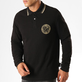 /achat-polos-manches-longues/versace-jeans-couture-polo-manches-longues-medal-embroidery-b3gua7p6-noir-dore-187620.html