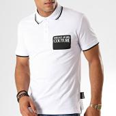 /achat-polos-manches-courtes/versace-jeans-couture-polo-manches-courtes-label-b3gua7p8-blanc-noir-187623.html