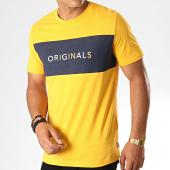 /achat-t-shirts/jack-and-jones-tee-shirt-albas-jaune-bleu-marine-chine-187739.html