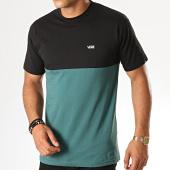 /achat-t-shirts/vans-tee-shirt-colorblock-vn0a3czdtnb-vert-sapin-noir-187804.html