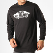 /achat-t-shirts-manches-longues/vans-tee-shirt-manches-longues-off-the-way-vn00059jy28-noir-blanc-187808.html