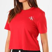 /achat-t-shirts/calvin-klein-tee-shirt-femme-crop-monogram-embroidery-1592-rouge-blanc-187859.html