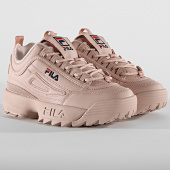 /achat-baskets-basses/fila-baskets-femme-disruptor-low-1010302-71p-rose-smoke-187950.html