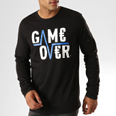 /achat-t-shirts-manches-longues/game-over-tee-shirt-manches-longues-flash-noir-187928.html