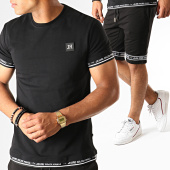 /achat-ensembles-survetement/jeune-riche-ensemble-tee-shirt-short-jogging-set-code-noir-blanc-187968.html
